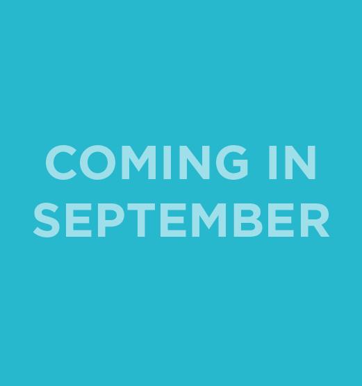 coming in september