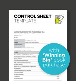 control-sheet